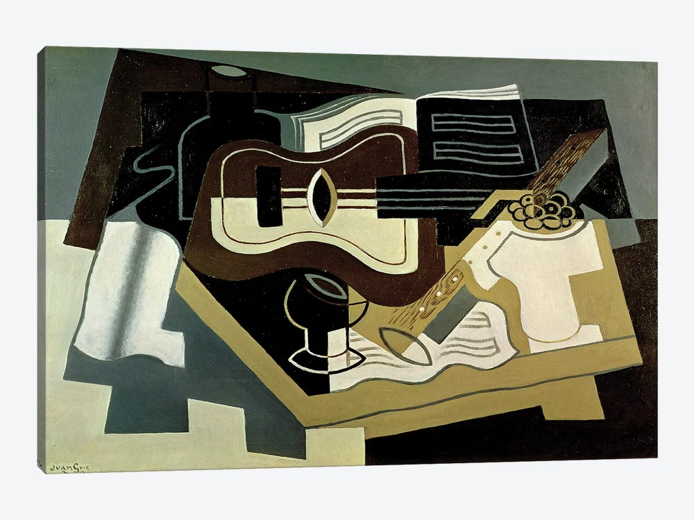 Guitar and Clarinet, 1920  by Juan Gris 1-piece Canvas Artwork