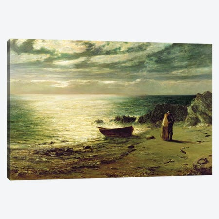 Night, most glorious night, thou wert not made for slumber', 1874  Canvas Print #BMN231} by John MacWhirter Canvas Print