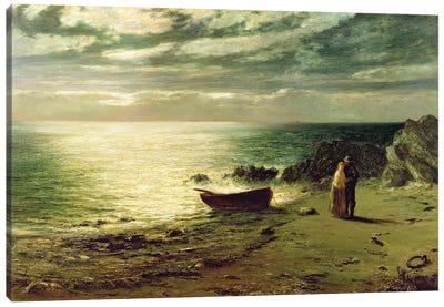Night, most glorious night, thou wert not made for slumber', 1874  Canvas Art Print