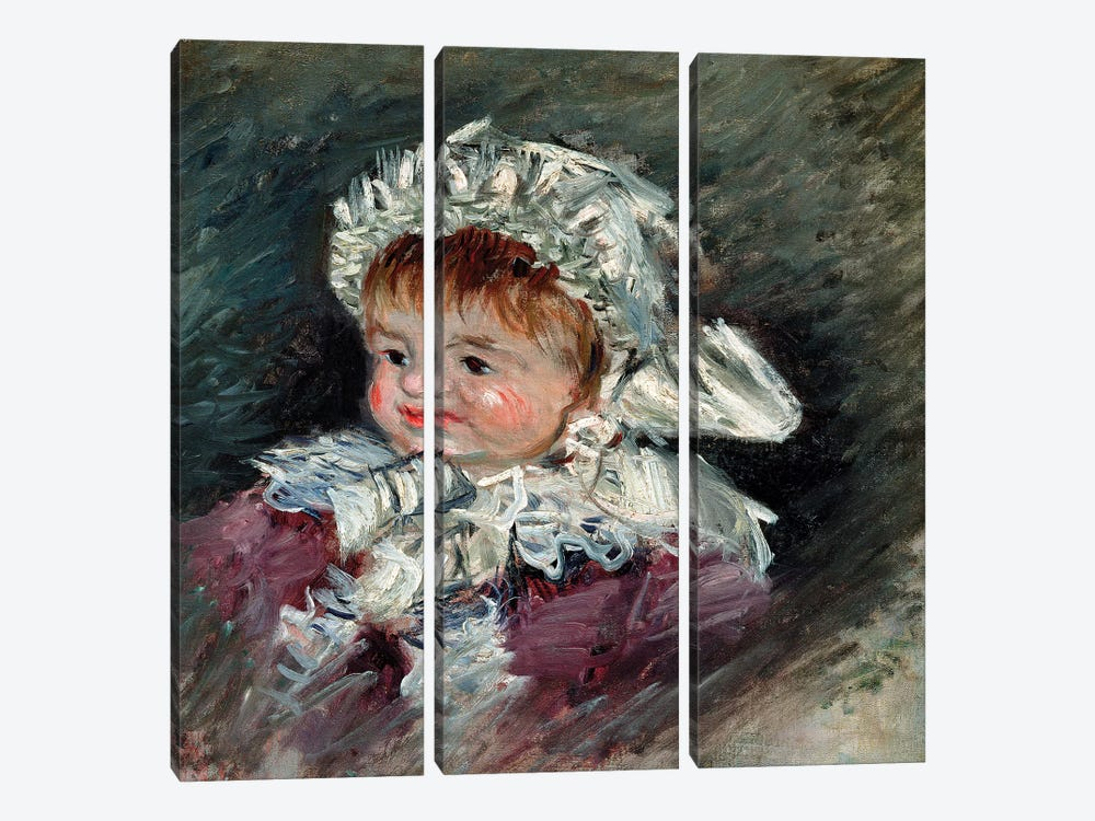 Michel Monet  by Claude Monet 3-piece Canvas Print