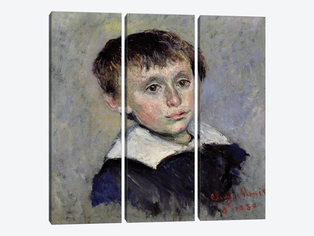 Jean Monet  by Claude Monet 3-piece Canvas Wall Art