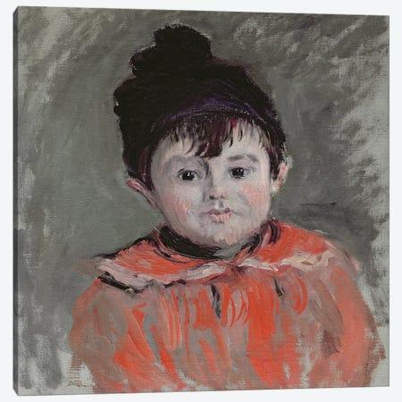 Michel Monet  Canvas Print #BMN2323} by Claude Monet Art Print