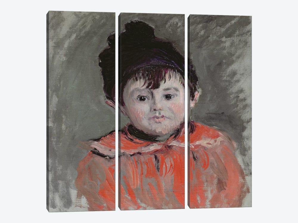 Michel Monet  by Claude Monet 3-piece Canvas Art
