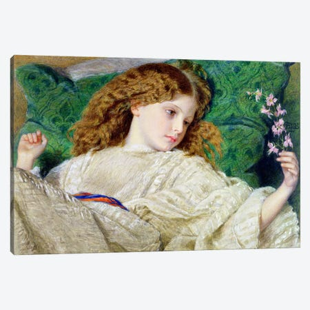Dreams, c.1861  Canvas Print #BMN2324} by Sir Frederick William Burton Canvas Artwork