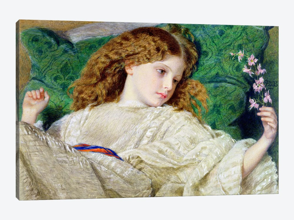 Dreams, c.1861  by Sir Frederick William Burton 1-piece Art Print