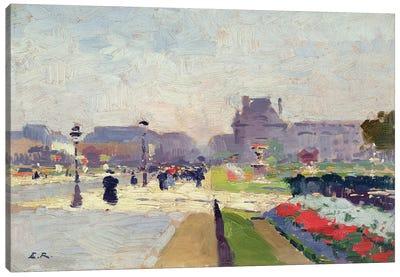 Avenue Paul Deroulede, Tuileries, Paris  Canvas Art Print