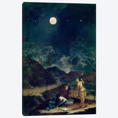 Astronomical Observations I Canvas Print #BMN2344} by Donato Creti Canvas Artwork