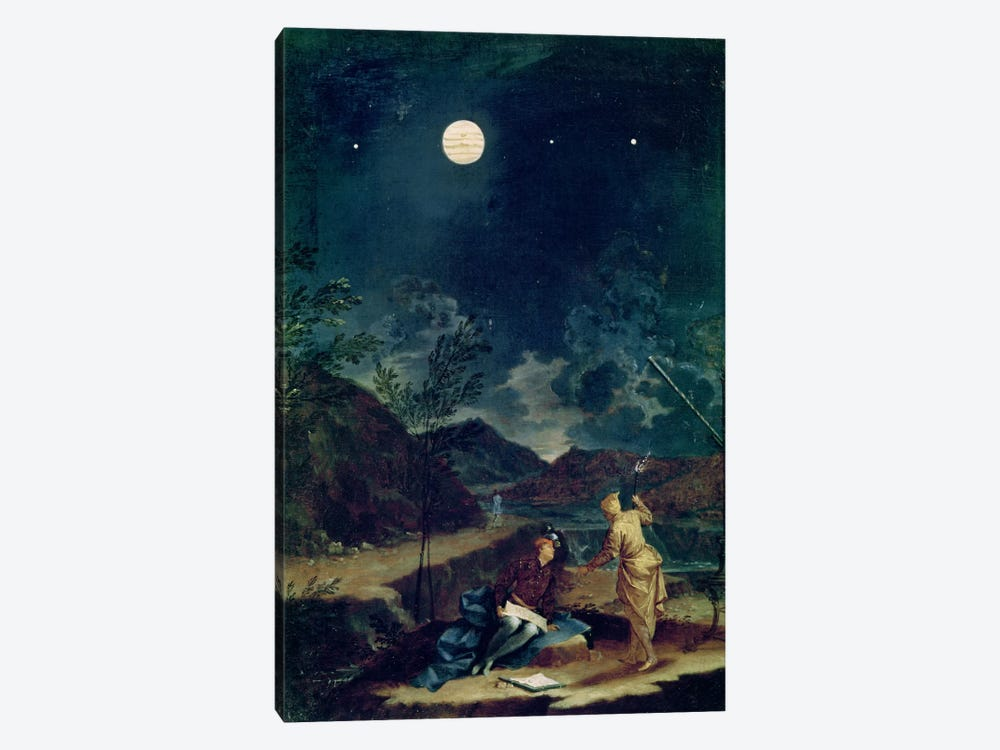 Astronomical Observations I 1-piece Canvas Art Print
