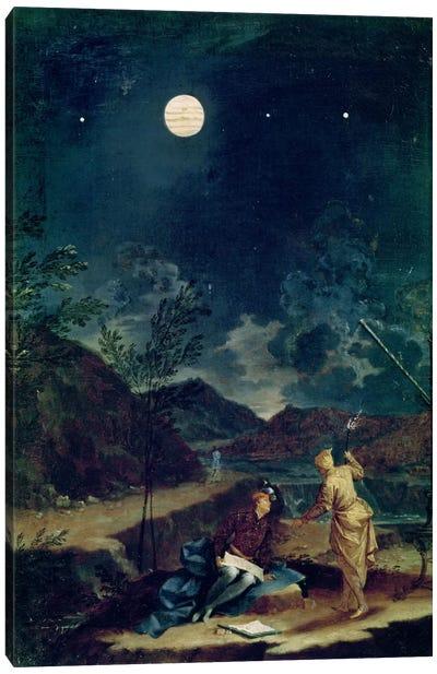 Astronomical Observations I Canvas Art Print
