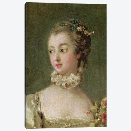 Madame de Pompadour  Canvas Print #BMN2345} by Francois Boucher Canvas Art