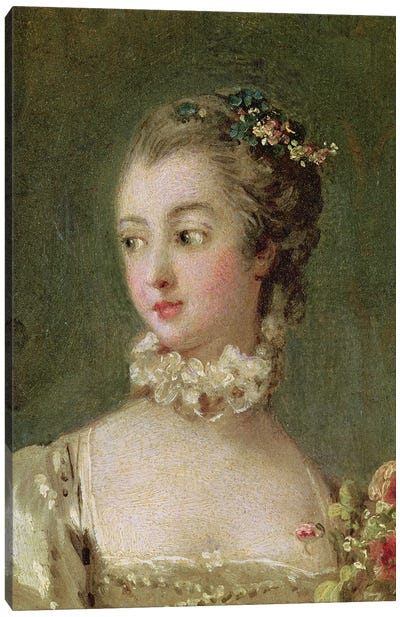 Madame de Pompadour  Canvas Art Print