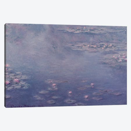 Nympheas, 1906  Canvas Print #BMN2346} by Claude Monet Canvas Wall Art