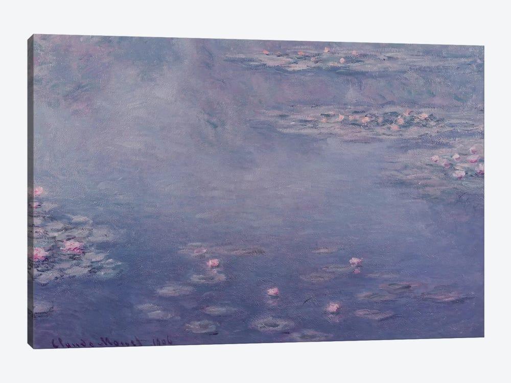 Nympheas, 1906  by Claude Monet 1-piece Canvas Art Print