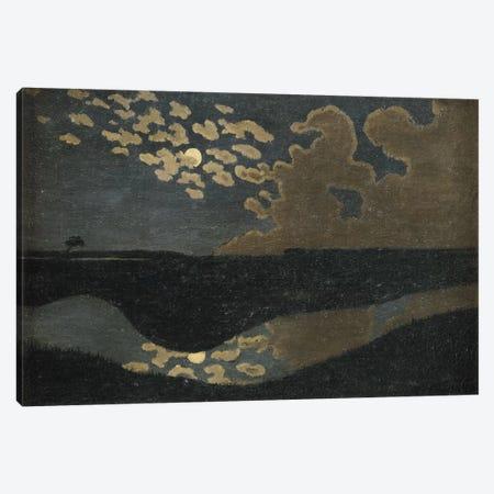 Moonlight, 1894  Canvas Print #BMN2357} by Felix Edouard Vallotton Canvas Art Print