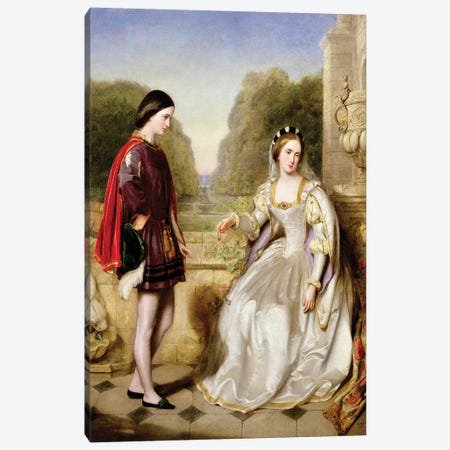 The Refusal  Canvas Print #BMN2358} by Edward Hughes Canvas Art