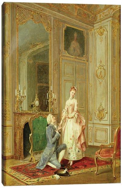 The Proposal  Canvas Art Print