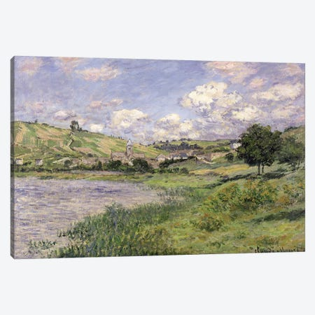 Landscape, Vetheuil, 1879  Canvas Print #BMN2360} by Claude Monet Canvas Print