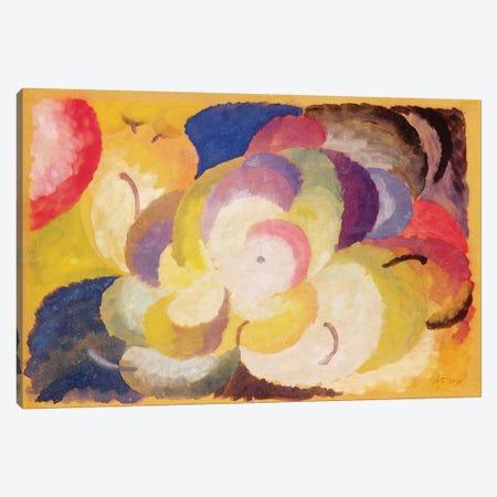 Still Life with Apples, 1915  Canvas Print #BMN2366} by Alexander Bogomazov Canvas Artwork