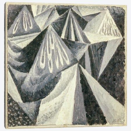 Cubo-Futurist Composition in Grey and White, 1916  Canvas Print #BMN2367} by Alexander Bogomazov Canvas Art