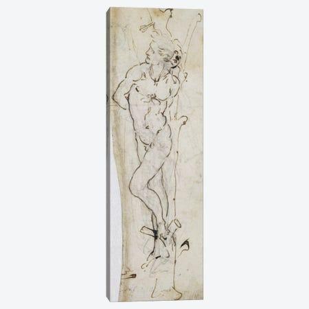 Study of St. Sebastian, 1480-81  Canvas Print #BMN2375} by Leonardo da Vinci Canvas Print
