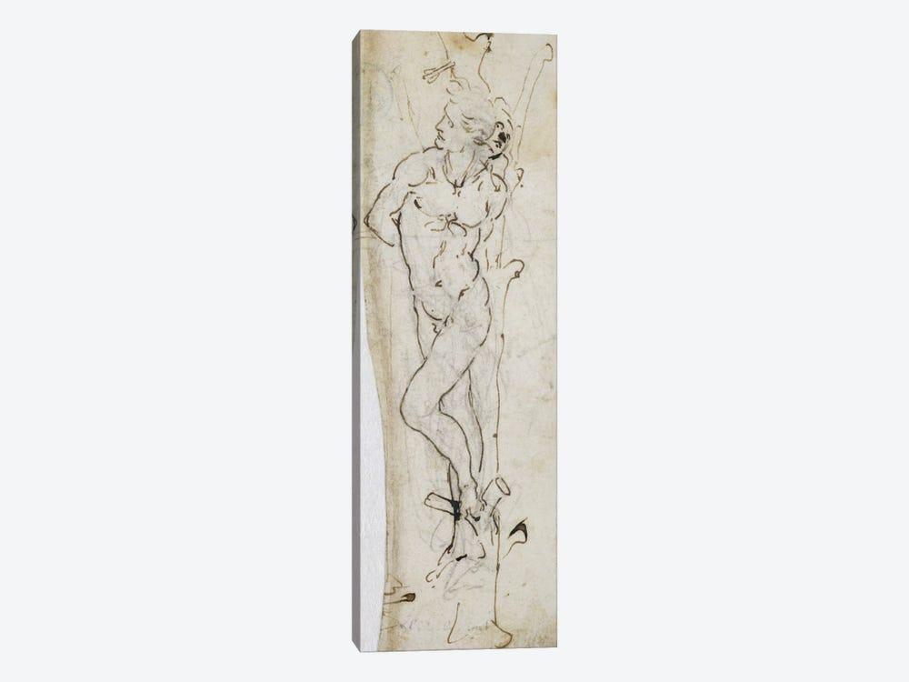 Study of St. Sebastian, 1480-81  by Leonardo da Vinci 1-piece Art Print