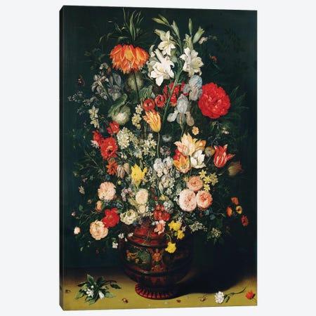 Vase of Flowers  Canvas Print #BMN2386} by Jan Brueghel the Elder Canvas Art