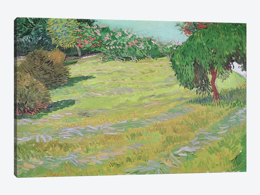Field in Sunlight, 1888  by Vincent van Gogh 1-piece Canvas Wall Art