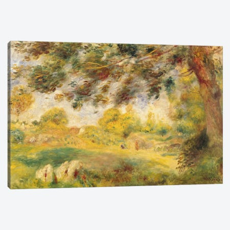 Spring Landscape  Canvas Print #BMN2388} by Pierre-Auguste Renoir Canvas Art Print
