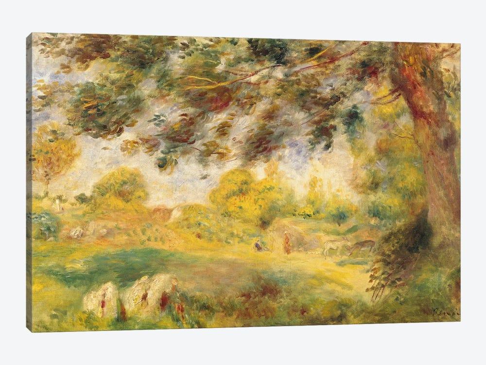 Spring Landscape  by Pierre-Auguste Renoir 1-piece Art Print