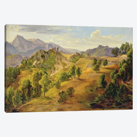 The Serpentara at Olevano, c.1824  Canvas Print #BMN2390} by Joachim Faber Canvas Art