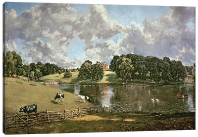 Wivenhoe Park, Essex, 1816  Canvas Art Print