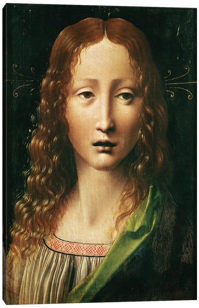 Head of the Saviour  Canvas Art Print