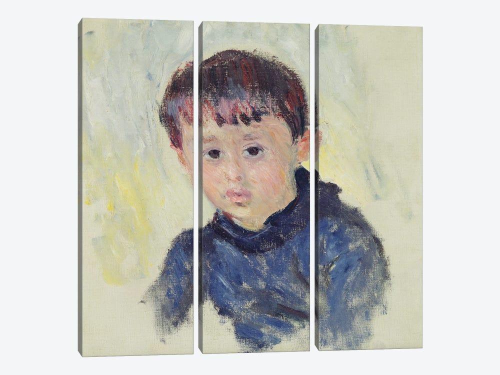 Michel Monet  by Claude Monet 3-piece Canvas Art Print