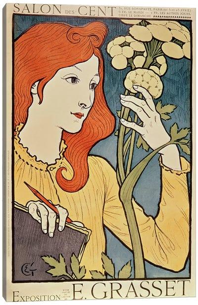 Salon des Cent, 1894  Canvas Art Print