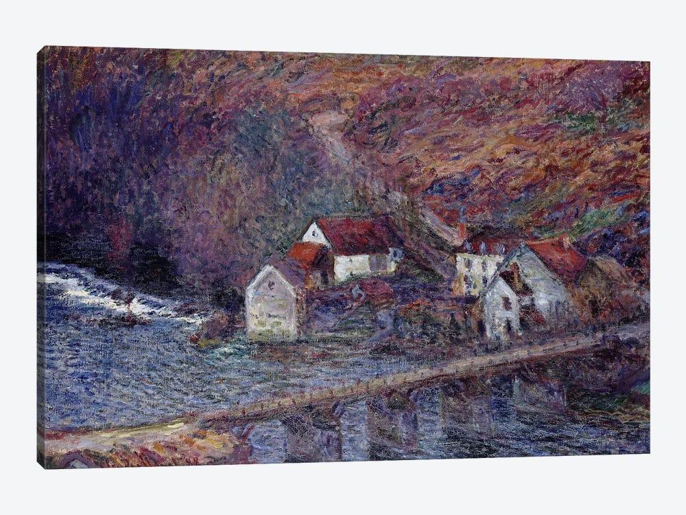 The Bridge at Vervy, 1889  by Claude Monet 1-piece Canvas Artwork