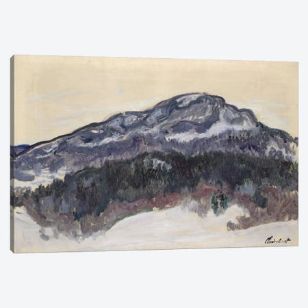 Mount Kolsaas, Norway, 1895  Canvas Print #BMN2423} by Claude Monet Canvas Artwork