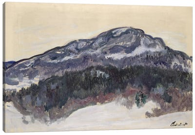 Mount Kolsaas, Norway, 1895  Canvas Art Print