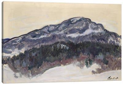 Mount Kolsaas, Norway, 1895  Canvas Art Print