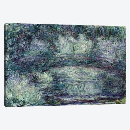 The Japanese Bridge, 1918-19   Canvas Print #BMN2426} by Claude Monet Art Print