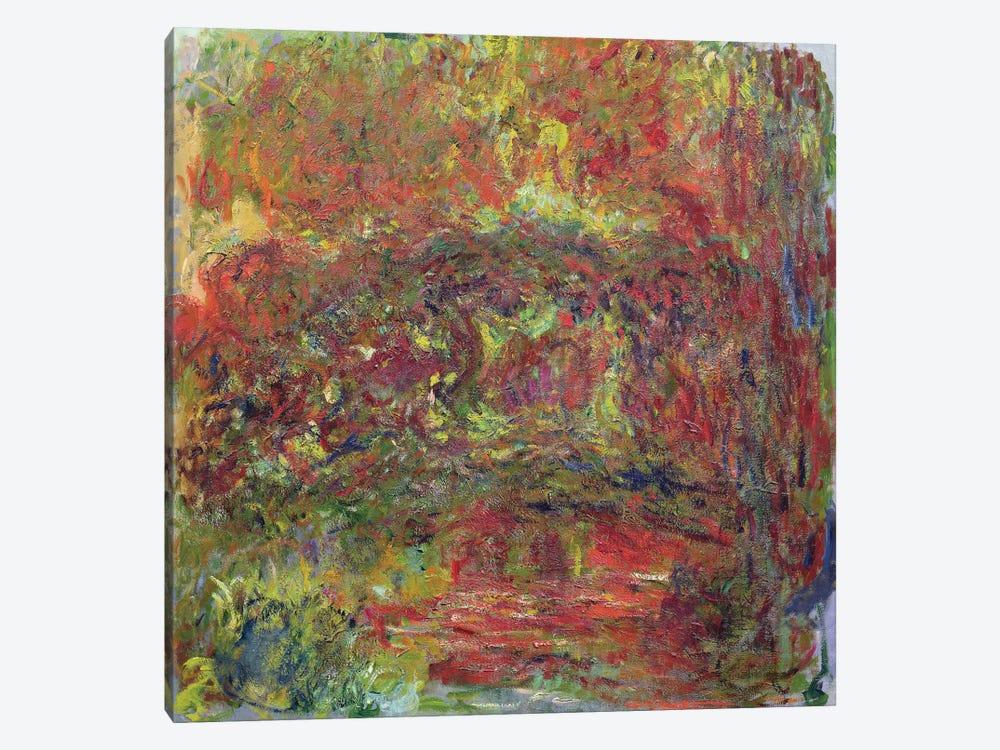 The Japanese Bridge, 1918-24  by Claude Monet 1-piece Canvas Artwork