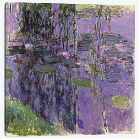 Nympheas, 1916-19  Canvas Print #BMN2429} by Claude Monet Canvas Art