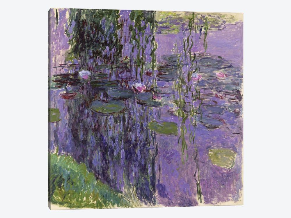 Nympheas, 1916-19  by Claude Monet 1-piece Art Print