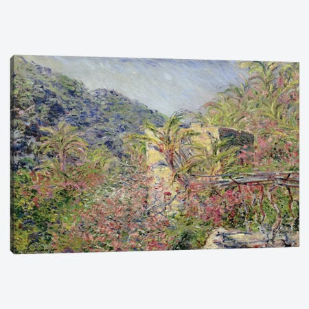 Sasso Valley. Sun Effect, 1884  Canvas Print #BMN2434} by Claude Monet Canvas Artwork