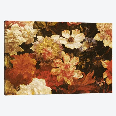 Detail of Flowers  Canvas Print #BMN2442} by Michelangelo Cerquozzi Canvas Artwork
