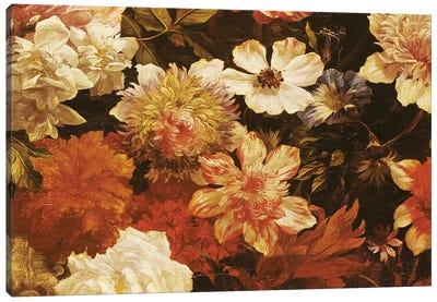Detail of Flowers  Canvas Art Print