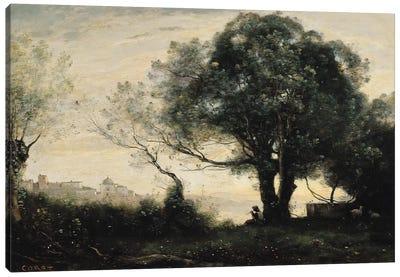 Souvenir of Castel Gandolfo  Canvas Art Print