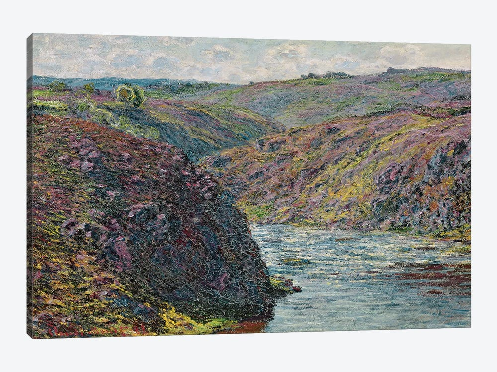 Ravines of the Creuse at the End of the Day, 1889  by Claude Monet 1-piece Canvas Art Print