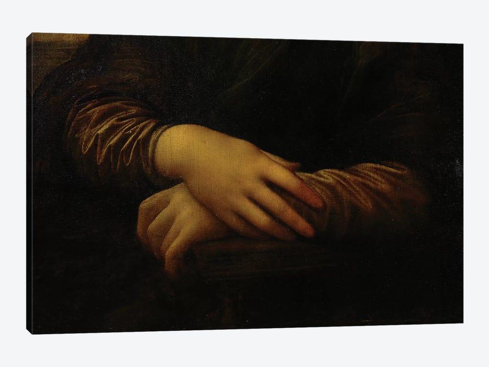 Mona Lisa, detail of her hands, c.1503-06  by Leonardo da Vinci 1-piece Art Print