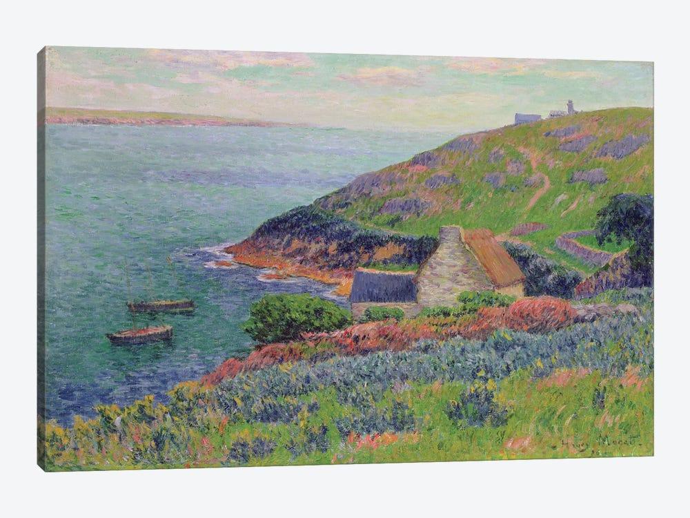 Port Manech, 1896  by Henry Moret 1-piece Canvas Art