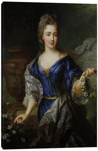 Marie-Anne de Bourbon  Canvas Art Print
